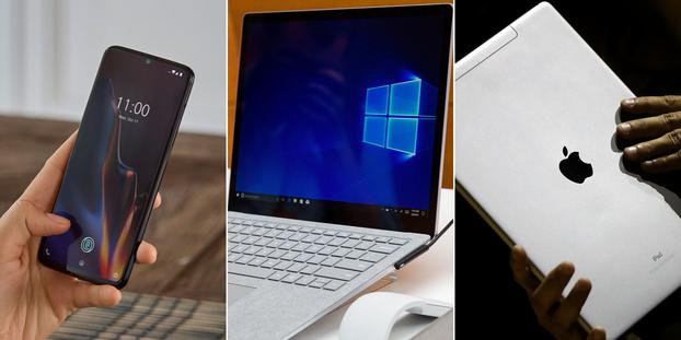 Smartphones, PC, tablettes : quelles sont les marques high-tech les plus fiables ?