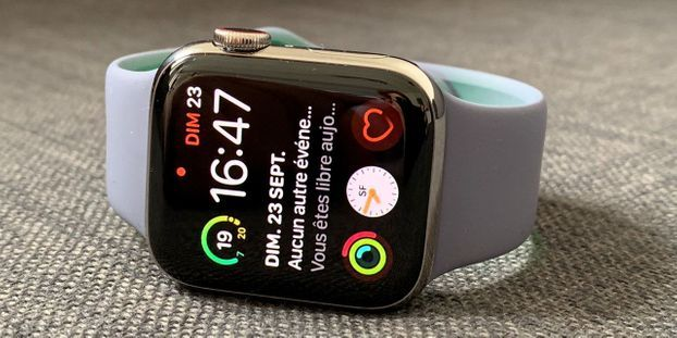 acbb745ec6aad4 Test de l Apple Watch Series 4   plus pratique et centrée sur la santé