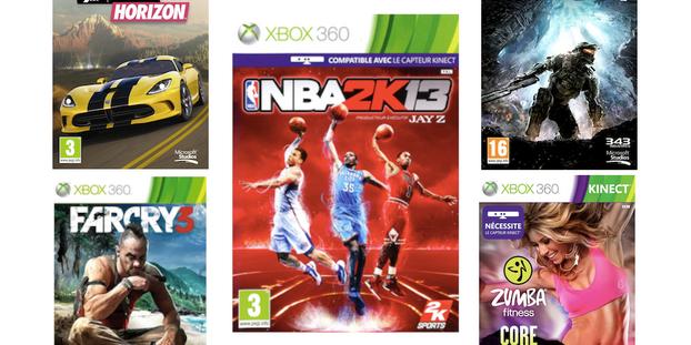 Jeux Pour Noel.Xbox 360 Le Top Des Jeux Pour Noël
