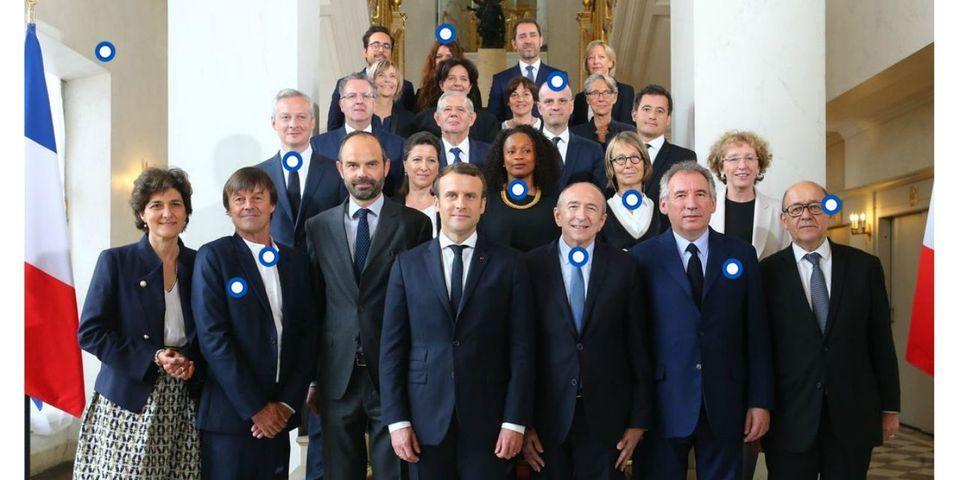 12 détails d'importance capitale sur la photo officielle du gouvernement Philippe