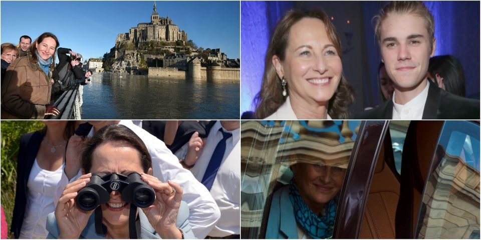 15 photos collector de Ségolène Royal pendant son passage au gouvernement