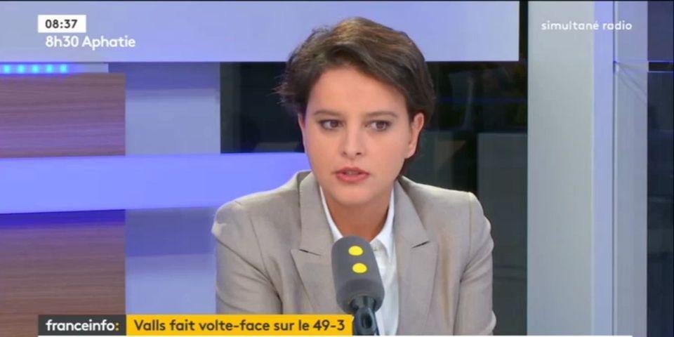 49.3 : en défendant Manuel Valls, Najat Vallaud-Belkacem en vient à critiquer sa manière de gouverner