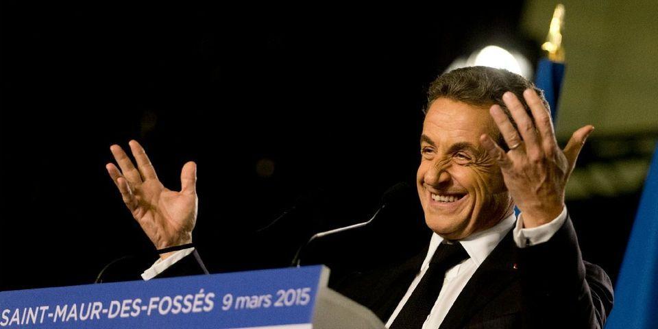 """À Belfort, Nicolas Sarkozy en remet une couche sur la """"peur"""" de Manuel Valls"""