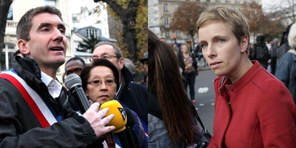 A deux jours du premier tour, Stéphane Gatignon et Clémentine Autain s'attaquent en justice