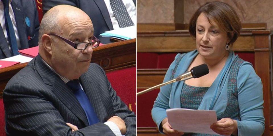 A l'Assemblée, la députée Isabelle Attard accuse le ministre Jean-Michel Baylet de violences sur une collaboratrice