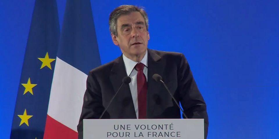 À Nice, François Fillon adapte une formule de Marine Le Pen sur le terrorisme