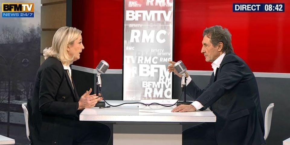 Accusée d'avoir donné trop de temps de parole au FN, BFM TV se défend de toute complaisance
