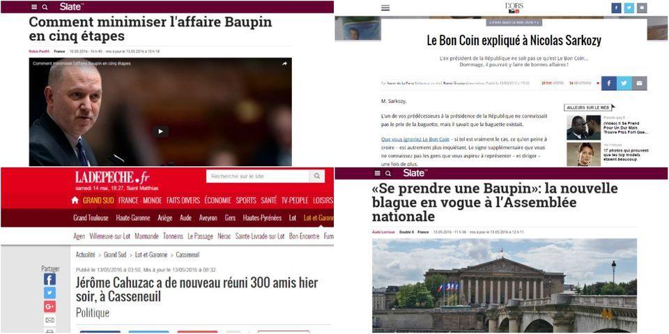 Affaire Baupin, retour de Cahuzac, Sarkozy et Le Bon Coin : la revue de presse du Lab