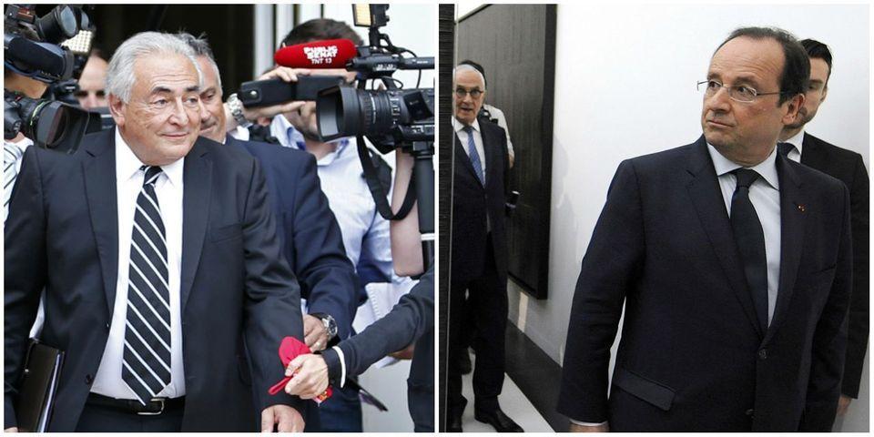 Affaire Dominique Strauss-Kahn : Valérie Trierweiler raconte la toute première réaction de François Hollande