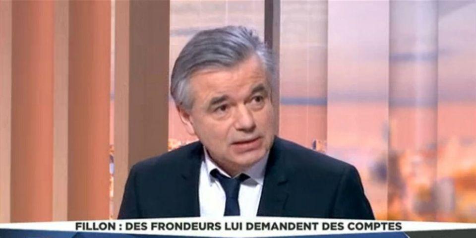 """Affaire Fillon : pour le sénateur LR Alain Houpert, """"il faut changer d'homme"""" pour la présidentielle"""