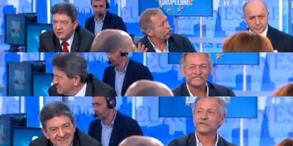 """Agacé par les débats sur l'UMP, Jean-Luc Mélenchon menace de """"se barrer"""" du plateau de France 2"""