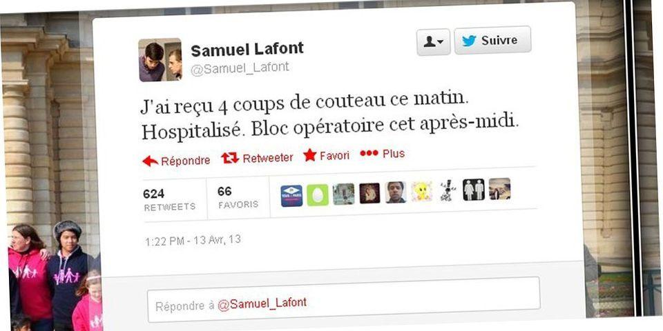 Agression de Samuel Lafont : mobile crapuleux selon la police et mobilisation en ligne