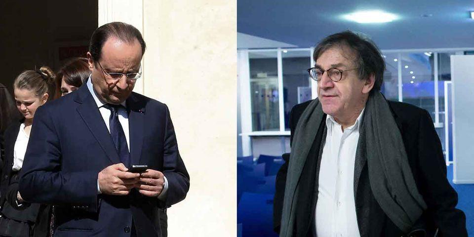 Alain Finkielkraut convoque François Hollande et son interdiction des portables en Conseil des ministres pour prouver qu'il n'est pas réactionnaire