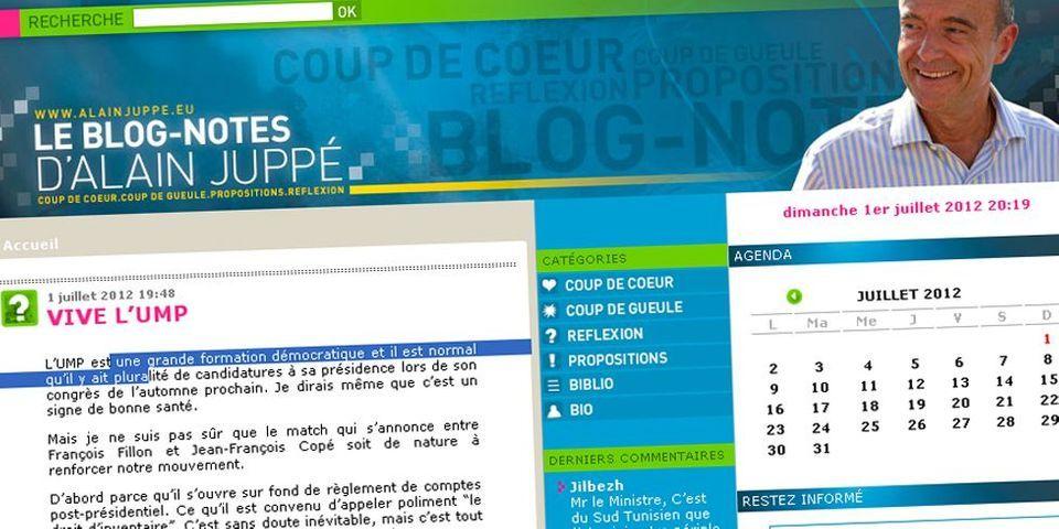 Alain Juppé souhaite que le futur président de l'UMP ne soit pas candidat en 2017