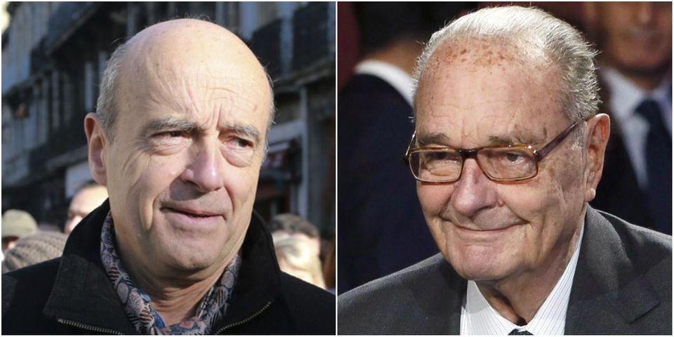 """Alain Juppé veut """"poursuivre l'œuvre de Jacques Chirac"""" : """"Vive le Chirac spirit !"""""""