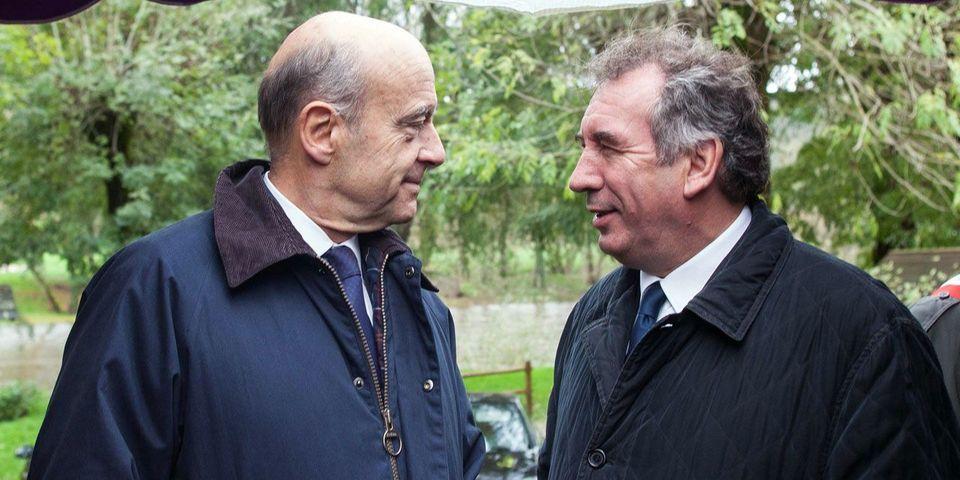 """Alain Juppé veut """"tourner la page"""" du vote Hollande de François Bayrou en 2012"""