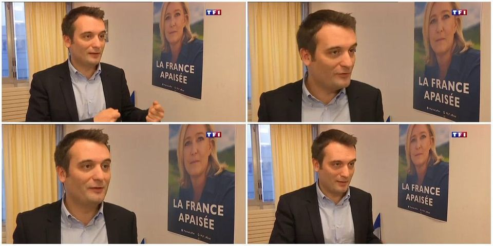 Alerte spoiler : Florian Philippot révèle par inadvertance la nouvelle affiche et le nouveau slogan de Marine Le Pen