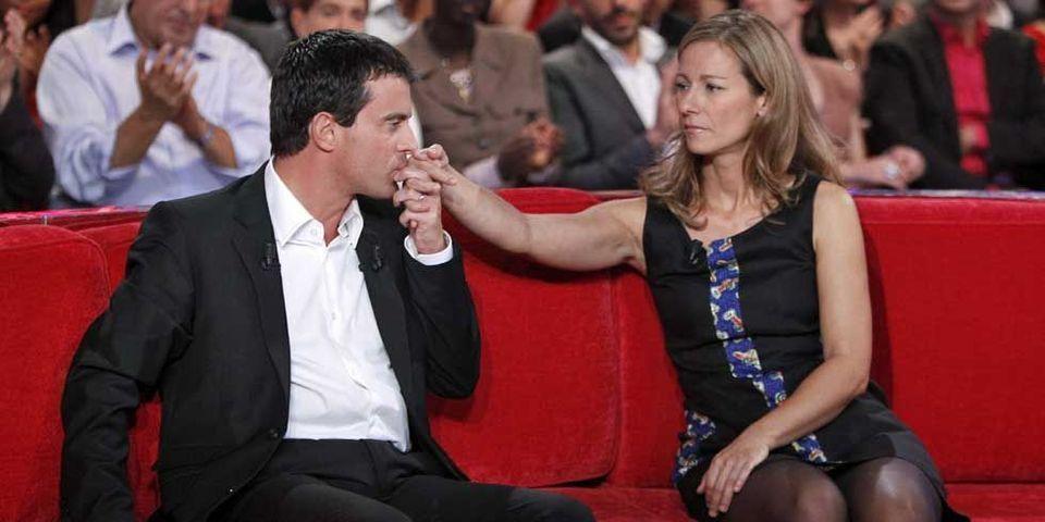 Anne Gravoin, femme de Manuel Valls, travaille avec Johnny Hallyday