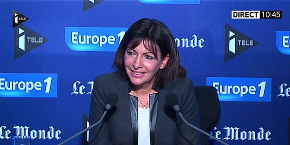 """Anne Hidalgo parle des """"personnalités comme De Gaulle"""" qui ont """"imaginé le débarquement"""""""