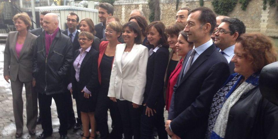 Anne Hidalgo présente ses têtes de liste et distille des leçons de politique à Nathalie Kosciusko-Morizet