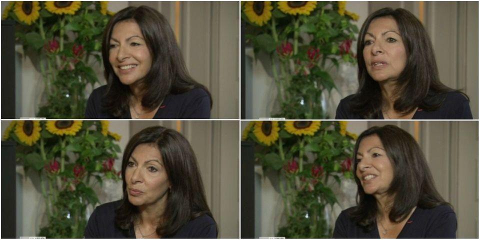 """Anne Hidalgo prétend ne pas vraiment avoir été dans le """"conflit"""" vis-à-vis d'Emmanuel Macron par le passé"""