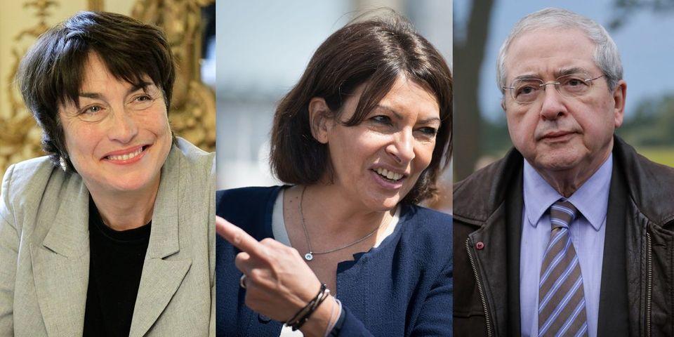 Anne Hidalgo soutient la candidature de Marie-Pierre de La Gontrie contre Jean-Paul Huchon en Ile-de-France