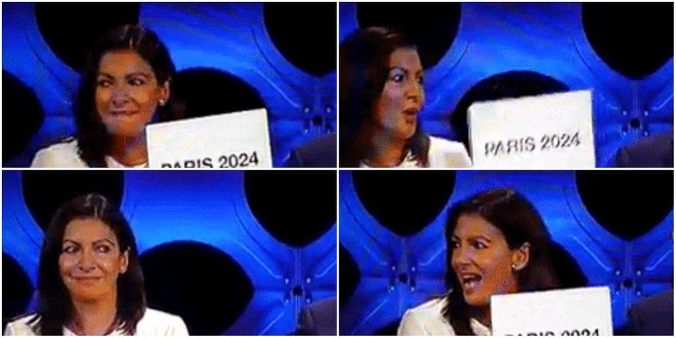 Anne Hidalgo vous offre un grand moment d'actor's studio lors de l'attribution des Jeux olympiques à Paris