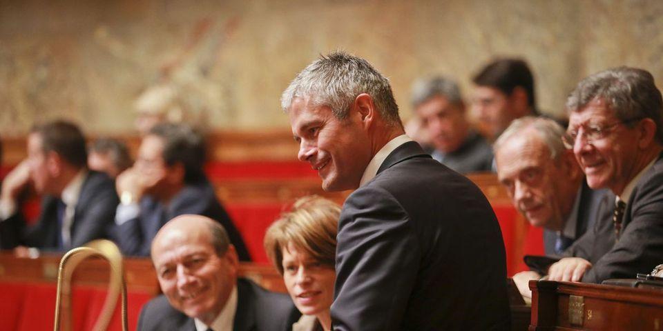 Laurent Wauquiez s'excuse après avoir crié pendant le discours de politique générale de Manuel Valls