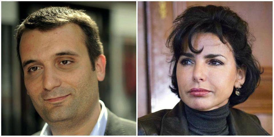 """Après avoir dit du bien d'Henri Guaino, Florian Philippot, numéro 2 du FN, trouve que Rachida Dati, """"une patriote"""", s'est """"bonifiée"""""""