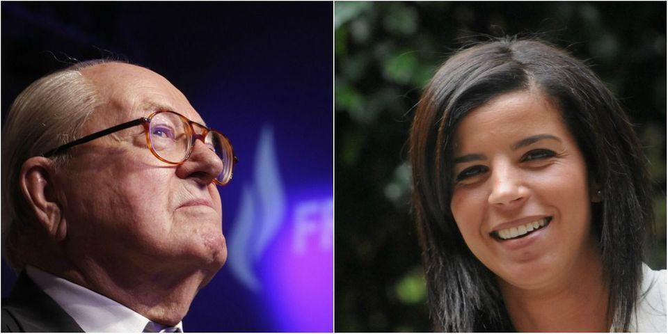 """Jean-Marie Le Pen promet à Fatima Allaoui un accueil """"avec beaucoup de sympathie et de chaleur"""" au FN"""