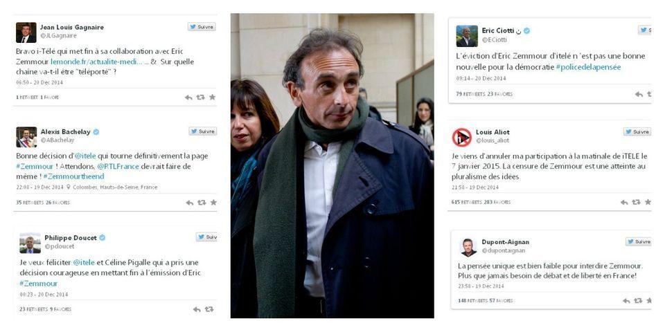 Après l'arrêt de l'émission de Zemmour sur iTELE, Louis Aliot appelle au boycott de la chaîne