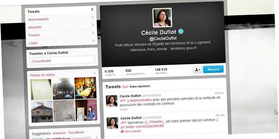 Après l'éviction de Delphine Batho, les #FF de circonstance de Cécile Duflot