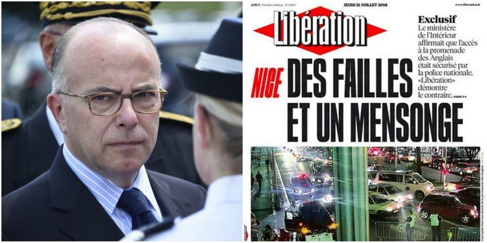 """Après la publication d'une enquête, le ministère de l'Intérieur s'interroge sur """"la déontologie des journalistes"""" de Libération"""