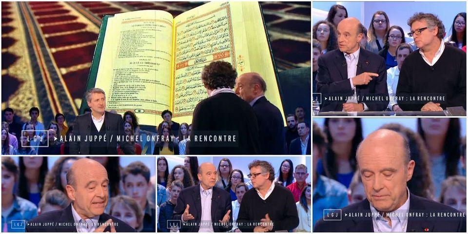 Après s'être fait tancer par Michel Onfray, Alain Juppé promet de lire le Coran