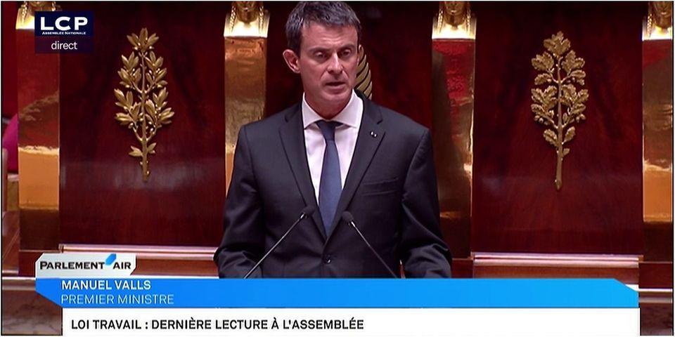 Après un dernier 49.3 de Manuel Valls, la loi Travail sera adoptée dans 24 heures