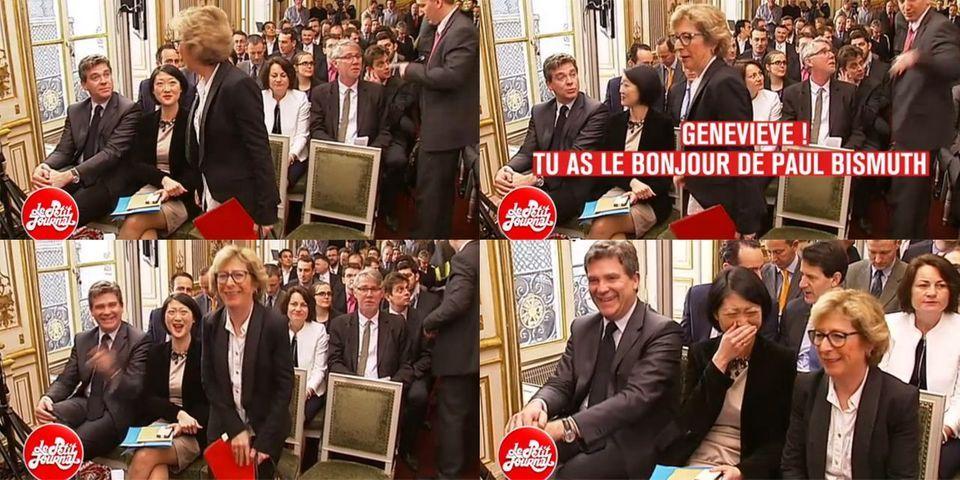 Arnaud Montebourg, Fleur Pellerin et Geneviève Fioraso s'éclatent avec les écoutes de Nicolas Sarkozy