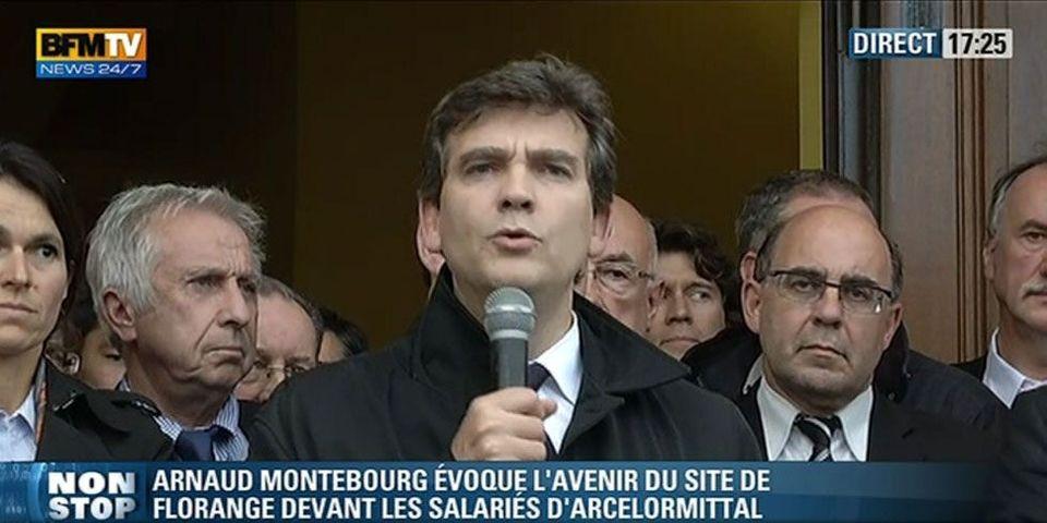 """Arnaud Montebourg : """"Nous sommes engagés dans un conflit syndical"""""""