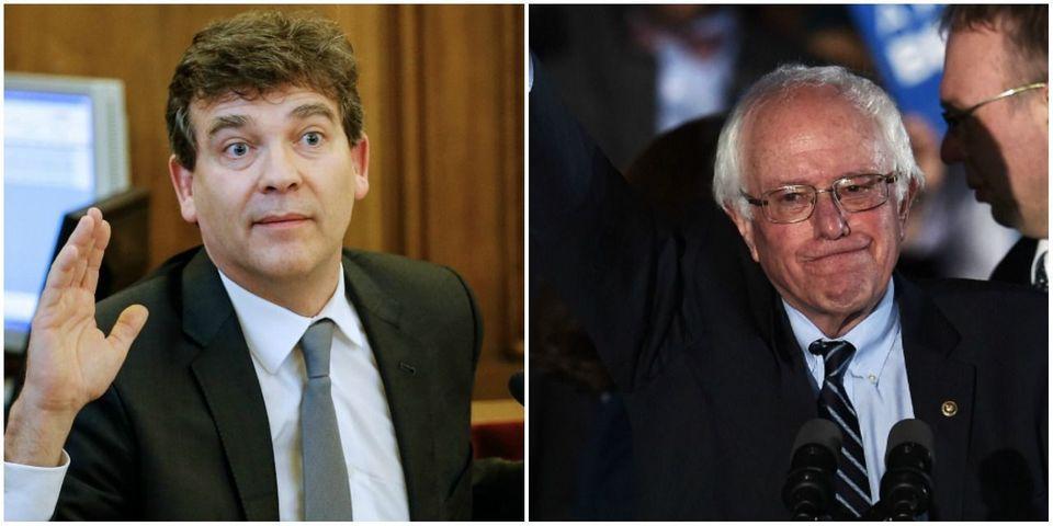 Arnaud Montebourg se voit comme la version française de Bernie Sanders