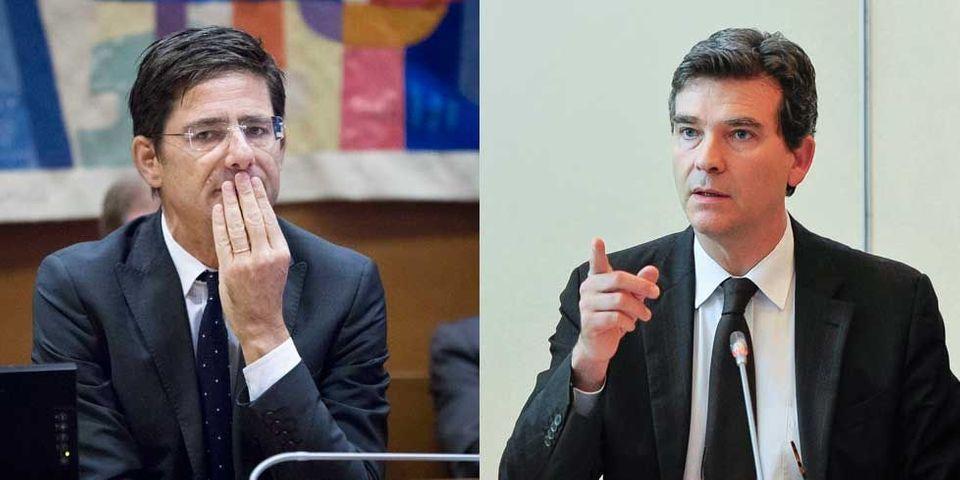 Arnaud Montebourg tape sur les doigts du directeur de la banque publique d'investissement
