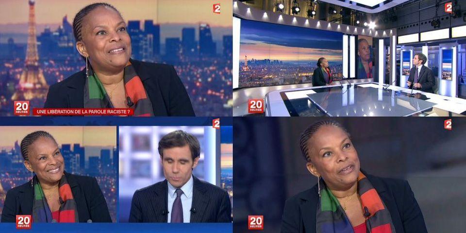 """Attaques racistes : Christiane Taubira """"encaisse"""" et passe à l'attaque"""