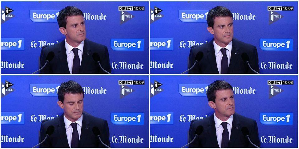 """Attentat en Isère : Manuel Valls répond aux attaques du """"bloc réactionnaire"""" de l'opposition"""