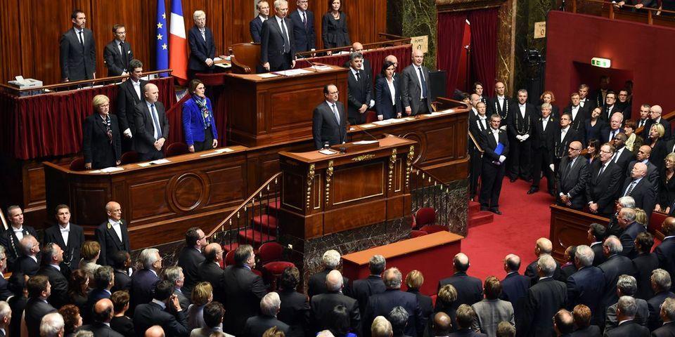 Attentats à Paris : c'était l'intervention de François Hollande devant le Congrès