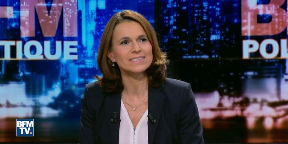 Aurélie Filippetti compare Emmanuel Macron hurlant en meeting au Loup de Wall Street