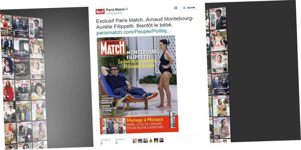 """Aurélie Filippetti enceinte d'Arnaud Montebourg: l'ex-ministre dénonce des """"photos volées"""" et va """"lancer une procédure"""" contre Paris Match"""