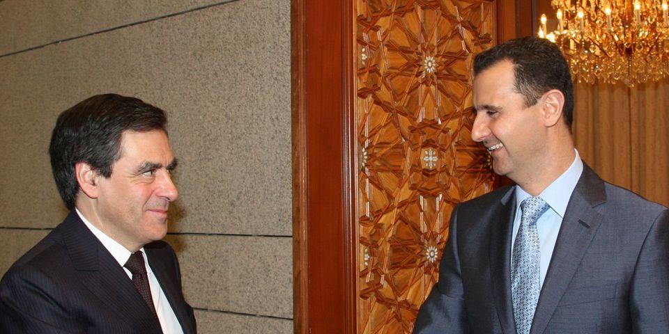 """Bachar al-Assad trouverait """"très bien"""" que François Fillon mette en place sa politique étrangère"""