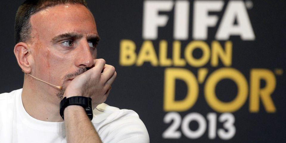 Ballon d'or : Deux ministres tweetent leur soutien à Franck Ribéry