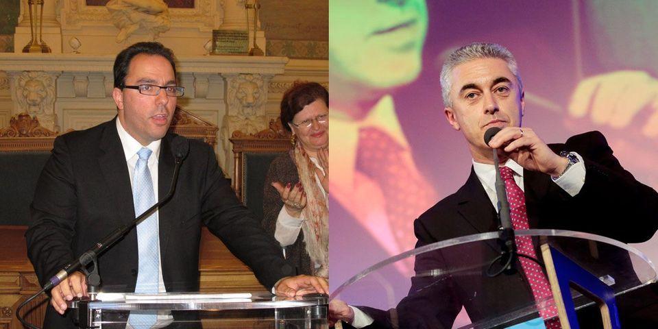 Bataille de disques durs à Asnières entre le nouveau maire UMP, Manuel Aeschlimann, et l'ancien maire PS, Sébastien Pietrasanta