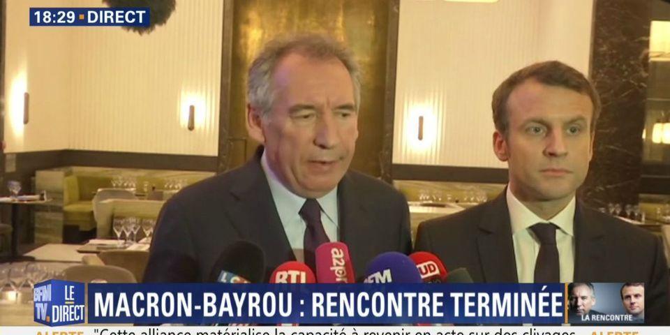 """Bayrou promet de """"tout faire pour aider"""" Macron (mais il ne dit pas encore comment)"""