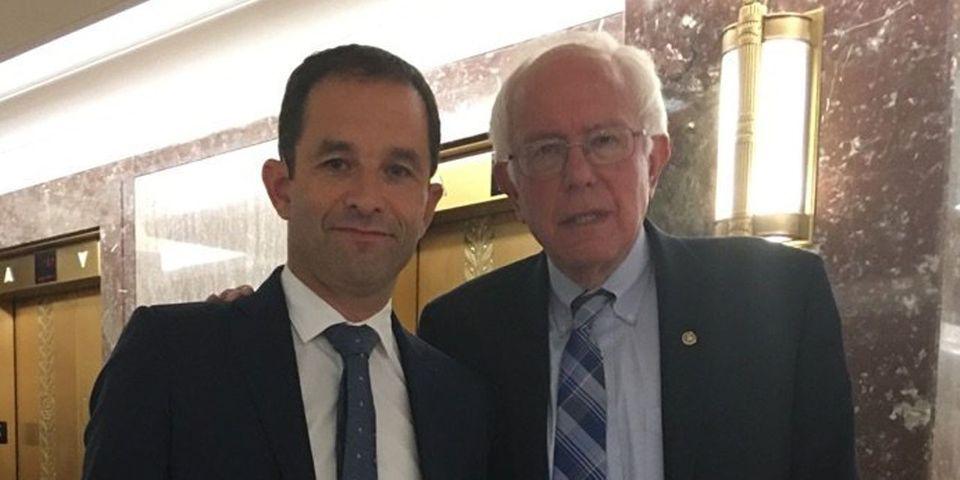 Benoît Hamon admet avoir piqué une idée de son programme à Bernie Sanders