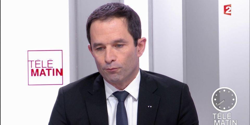 """Hamon consterné par la volonté de Macron de supprimer des postes de fonctionnaires """"comme Sarkozy ou Fillon"""""""